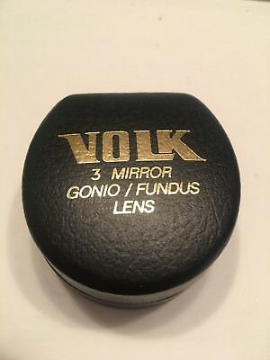 Volk 3 Mirror Gonio/Fundus Lens. Lens and case are in great condition.