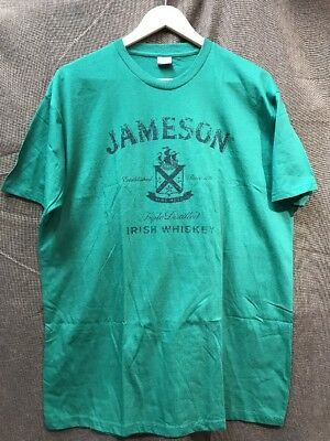 NEW JAMESON IRISH WHISKEY T-Shirt Sz XL