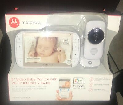 Motorola MBP844 WiFi Connect Baby Monitor