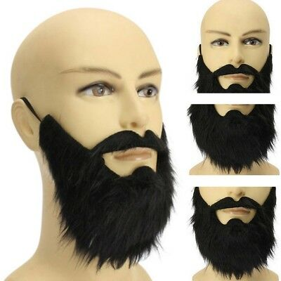 Funny Fancy Halloween Party Fake Beard Moustache Mustache Facial Hair Costume