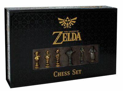 NEW Chess: The Legend Of Zelda Collector's Edition Limited Set Board Game UK