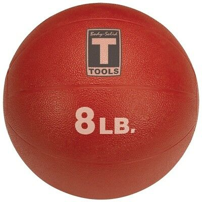 (3.6kg, Red) - Body Solid Tools BSTMB8 3.6kg Medicine Ball (Red). Brand New
