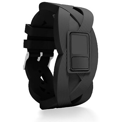 (Regular Fit(16cm  - 20cm ), Black) - iBREK Garmin Vivofit 3 JR Replacement