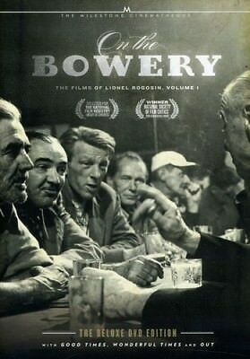 On the Bowery: The Films of Lionel Rogosin, Vol. 1 [2 Dis (DVD Used Like New) WS