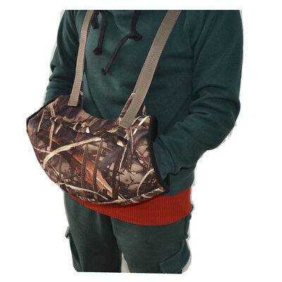MDSTOP Camouflage Outdoor Hand Warmer Muff Fits for Hunting, Fly Fishing, Hiking