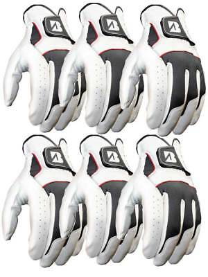 Bridgestone xFIXx Pack Of 6 Golf Gloves White