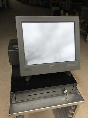 Vectron Pos Colotouch Touchscreen Register System 7610-5020 & Printer & Scanner