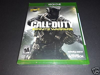 Call of Duty: Infinite Warfare Xbox One NEW Sealed English