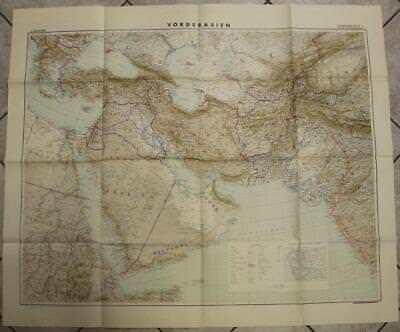 Arabia Iran Iraq Central Asia Turkey Middle East 1941 Anonymous Wall Antique Map