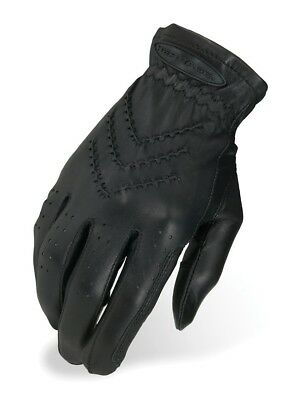 (5, Black) - Heritage Traditional Show Glove. Heritage Products