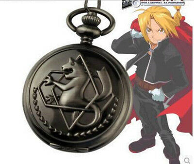 Fullmetal Alchemist Ed's Pocket Watch With Chain Anime Cosplay Prop