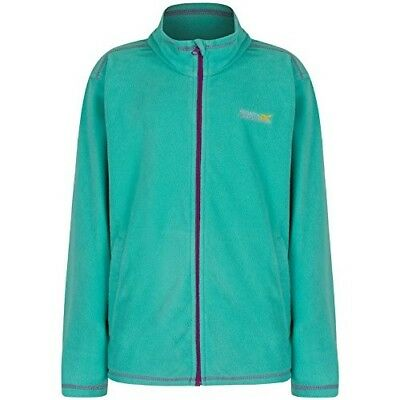 (Size 9 - 10, Pale Jade) - Regatta Children's King Ii Fleece. Shipping Included