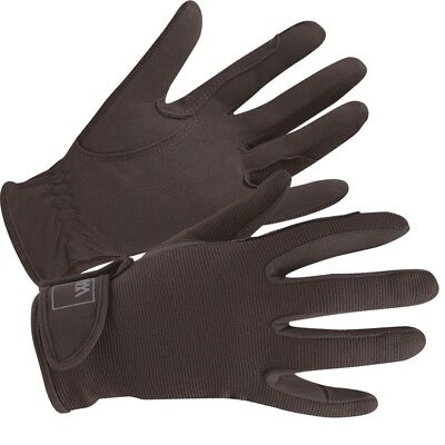 (Size 9.5, Brown) - Woof Wear Grand Prix Riding Glove. Free Delivery