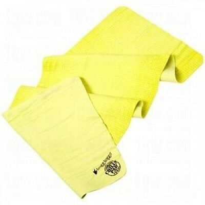 Frogg Toggs Chilly Pad Sports Towel Yellow. Brand New
