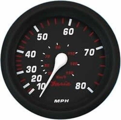 Faria Professional Red Speedo 80 MPH. Free Shipping