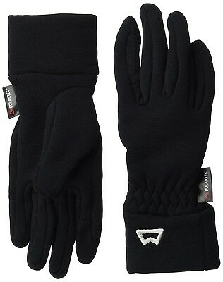 (Black, Medium) - Mountain Equipment Women's Touch Screen Glove. Free Delivery