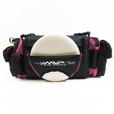 (Pink) - MVP Nucleus Tournament Disc Golf Bag. MVP Disc Sports. Delivery is Free