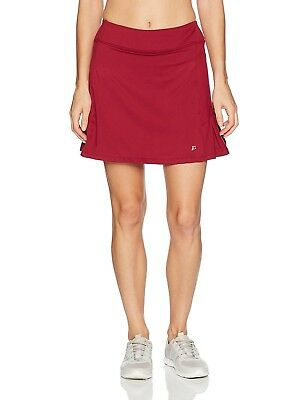 (Small, Ruby) - Skirt Sports – Women's Jaguar Skirt with Built-in Shorts,