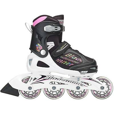Bladerunner 2018 Phaser Flash Adjustable Inline Skates - Black / Multi