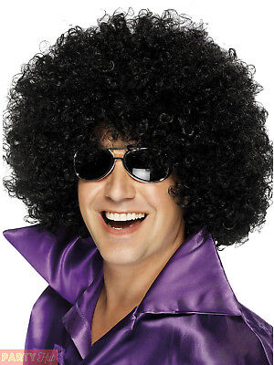 Adults Mega Huge Afro Wig Mens Ladies 60s 70s Hippy Hippie Fancy Dress Accessory