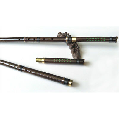 8 holes Chinese Instrument Purple Bamboo 2 Sections Profession Flute Xiao F Key