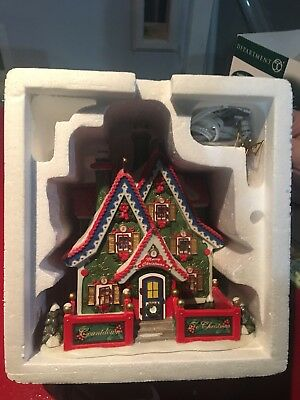 Dept 56 Countdown To Christmas Headquarters HAND-NUMBERED