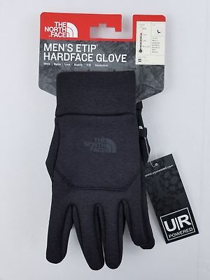 5578aabdb THE NORTH FACE ETIP HARDFACE GLOVES NF0A2T7VPCT BLACK Size Large New