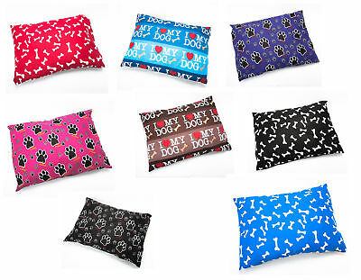 New Dog Bed Removable Zipped Cover Large Size Washable Pet Cushion Cover Only