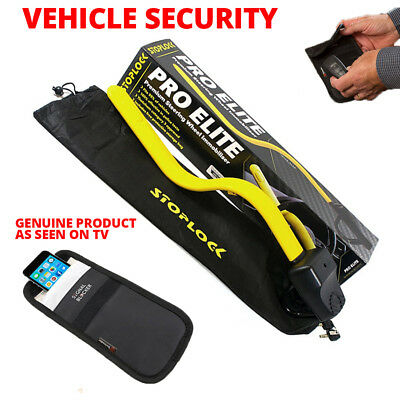 STOPLOCK PRO ELITE VEHICLE SECURITY + CAR KEY FOB PHONE SIGNAL Anti Theft Block