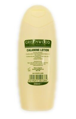 GreenWood Calamine Lotion Smooths sunburn, bites, itchy skin, stings, chickenpox