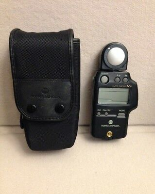 Konica Minolta Auto Meter V F Flash Light Meter Japan