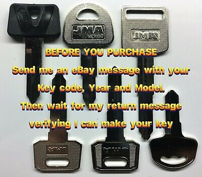 Suzuki Scooter Keys Cut to Code Replacement Spare New Ignition precut Key