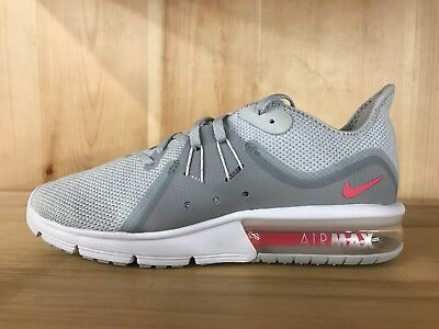 dbc95109fef ... canada nike air max sequent 3 pure platinum racer pink womens wmns sz 6  10 908993
