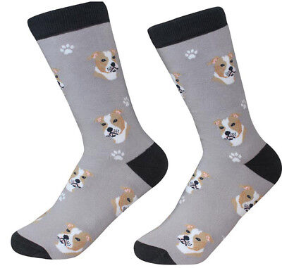Pitbull Socks Unisex Fawn