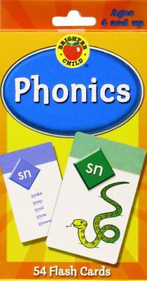 Flash Cards Phonics Kids Educational Early Learning Toy Brighter Child Toddler