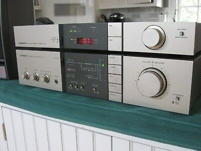 Pioneer A-5/F-5 Amplifier & Tuner Mint Fully Working w/Original Service Manuals