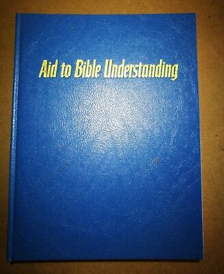 Jehovah's Witnesses Aid to Bible Understanding, 1969, Watchtower, see photos