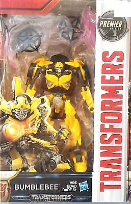 Transformers The Last Knight Premier Edition Bumblebee Figure