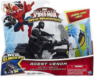 Marvel Ultimate Spider-Man Web-Warriors Agent Venom With ATV