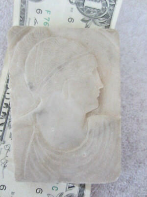 Authentic rare Ancient ROMAN? MARBLE FRAGMENT