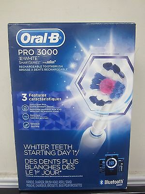 Oral B Pro 2500 3d White Electric Rechargeable Toothbrush