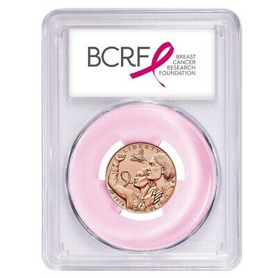 2018-D Breast Cancer Awareness Commemorative Half First Strike MS69 PCGS Pink