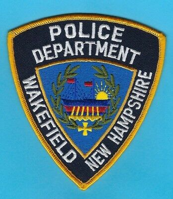 Wakefield Police Department Patch ~ New Hampshire ~ Very Nice Artwork & Colors