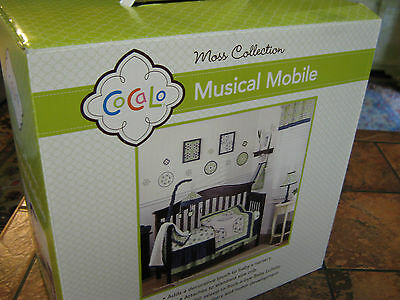 CoCaLo Baby--Moss collection--Musical Mobile--New in package