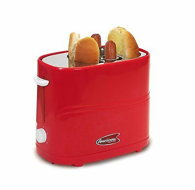 Hot Dog Toaster Retro Cooker Electric Grill Machine Warmer