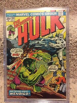 The Incredible Hulk #180 1st Wolverine High Grade VF-NM 181 off white to white
