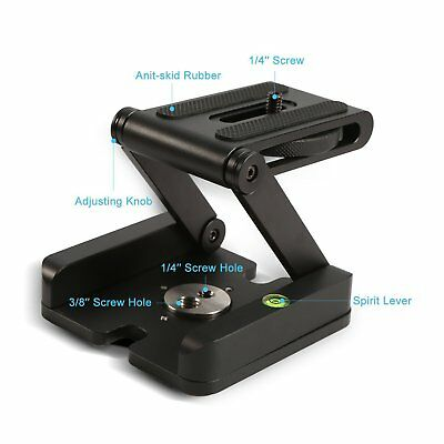 Z Flex Tilt Head Camera Bracket Tripod Ball Head Tripod Quick Release Plate