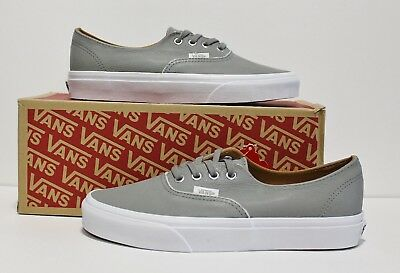 071d300cab9 VANS AUTHENTIC DECON Premium Leather Wild Dove Women s Size  7.5 ...