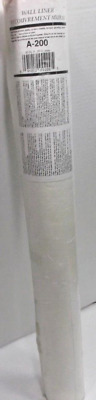 New Brewster Wallpaper Heavy Duty Wall Liner White A-200 27 inch wide 56 sq ft