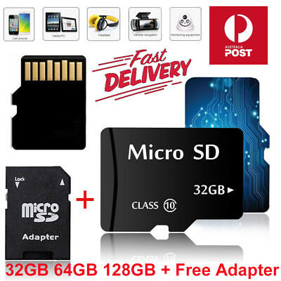 Extreme Pro 32GB 64GB 128GB Micro SD TF Memory Card SDHC SDXC Class 10 + Adapter